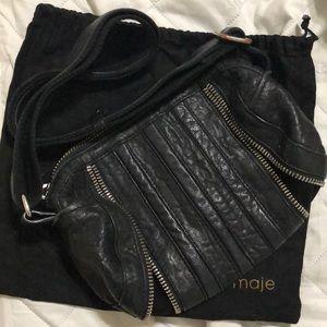 Leather Purse MAJE